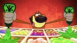 Зиг и Шарко | Пляжный герой с02э02 | русский мультфильм | дети видео | мультфильмы |