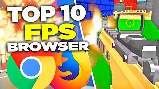 Gambar cover TOP 10 FREE Browser FPS GAMES - 2019 | NO DOWNLOAD