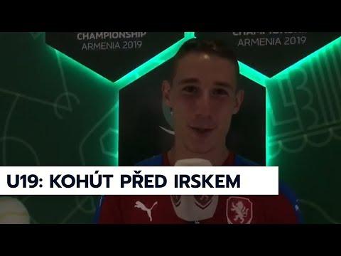 U19 | Michal Kohút před zápasem s Irskem na ME