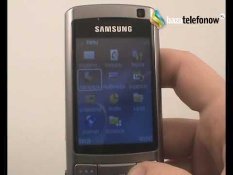 Prezentacja telefonu Samsung SGH-G810