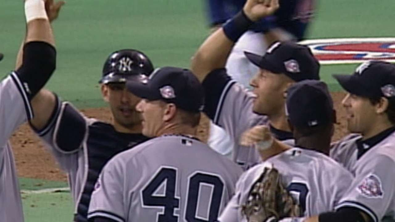 584618722 2003 ALDS Gm4  Yankees advance to the 2003 ALCS - YouTube