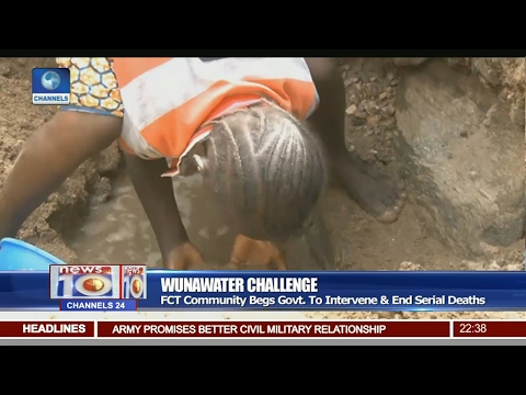 News@10: Community In FCT Decry Lack Of Water 19/02/17 Pt 3