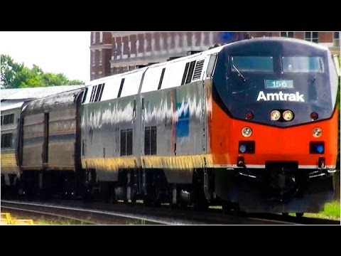 Thumbnail: Amtrak Trains, Passenger Trains Galore 2016
