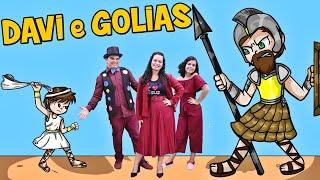 DAVI E GOLIAS ♪ Turma Kids e Cia - (Oh Glória à Deus)