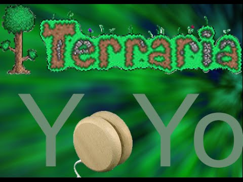 Terraria YoYo Episode 3: Too bright for you? (Coins, Solar eclipse and Dev armour!)