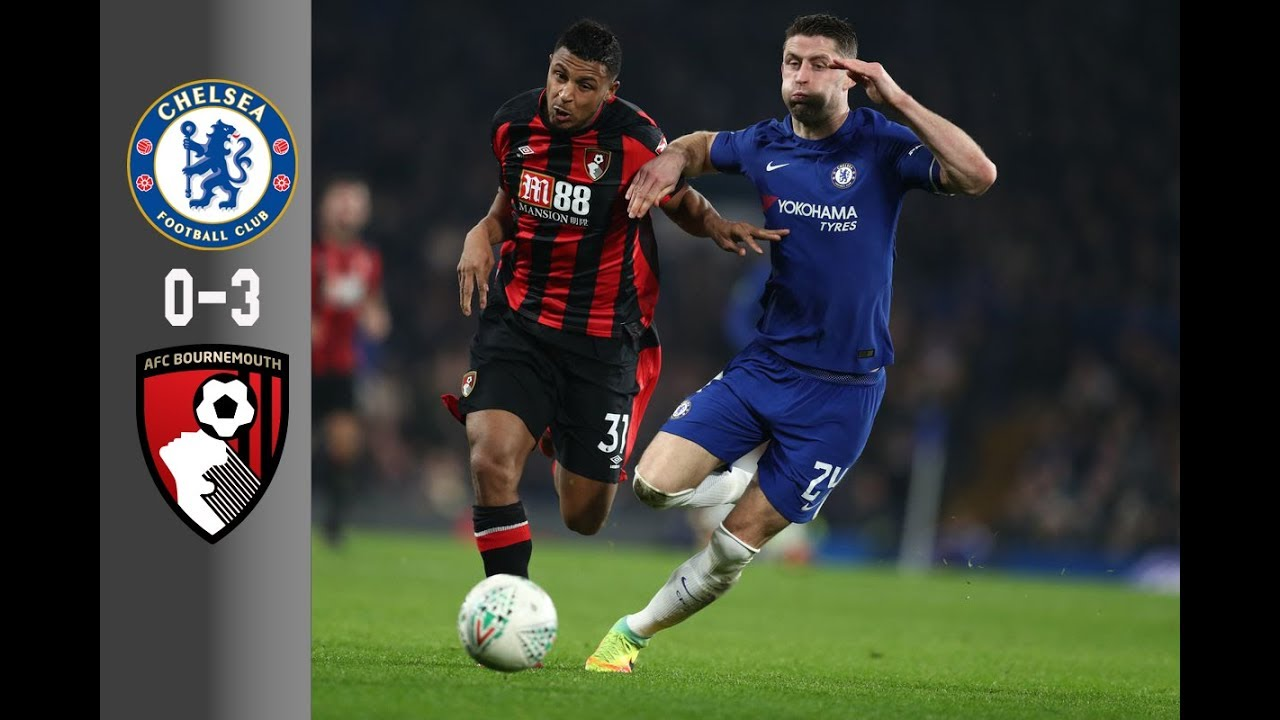 Chelsea vs AFC Bournemouth 0-3 | Goals & Highlight HD | EPL 31/01/2018