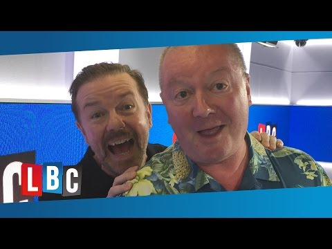 In Conversation With: Ricky Gervais