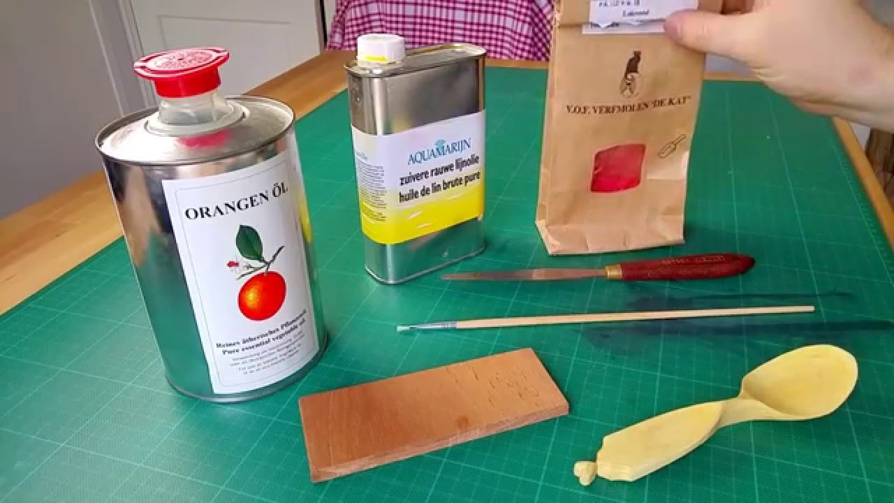 How to make food safe oil paint