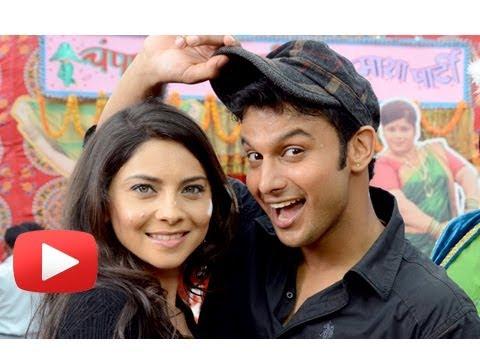 Marathi Movie Zapatlela 2 3D - Unseen Pictures - Sonalee, Adinath, Sai, Makarand