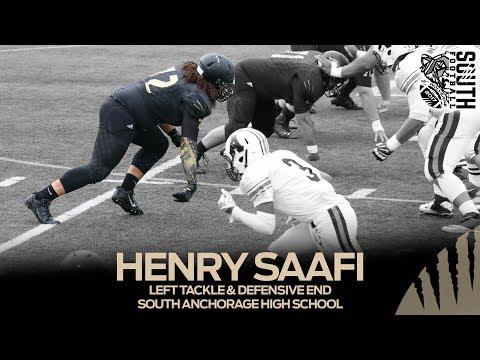 Henry Saafi South Anchorage High School vs  West High School 9.16.2017