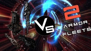 Four People VS Two Fleets | EvE Online
