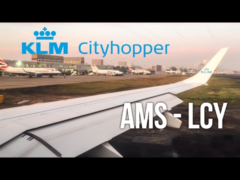 FLIGHT REVIEW: KLM inaugeral to London City (AMS-LCY)