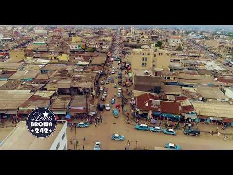Ville De Pointe-Noire En Drone - Zone Grand Marché| République du Congo – Afrique Centrale