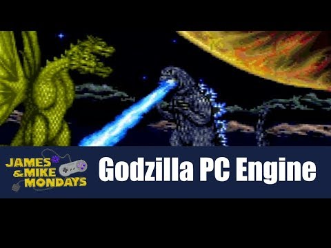 Godzilla: Battle Legends (PC Engine CD) James & Mike Mondays