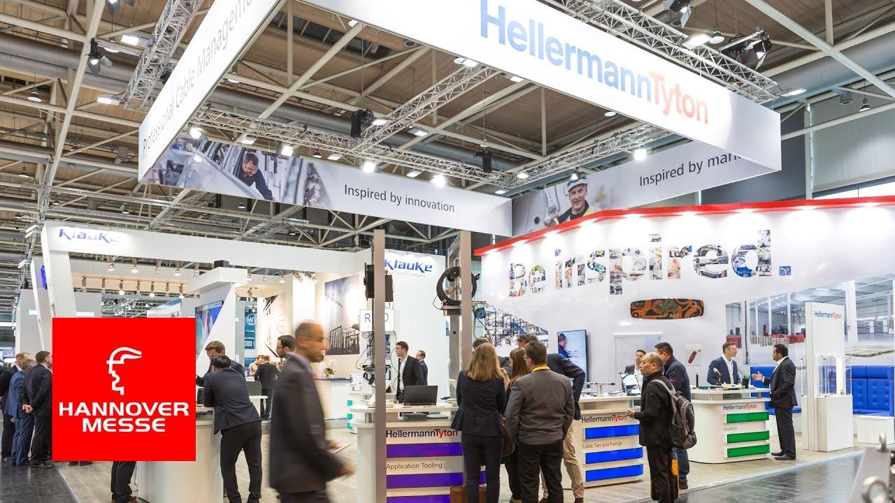 Hannover messe 2017 befestigungsschelle ratchet p clamp for Designkombinat hannover