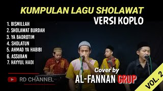 Download Kumpulan Lagu Sholawat Versi Koplo Mp3 Full   Cover by Grup AL-FANNAN - Cocok utk Cek Sound Hajatan