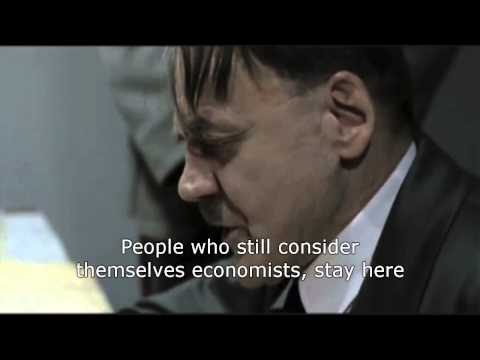 Hitler reads the latest economics research