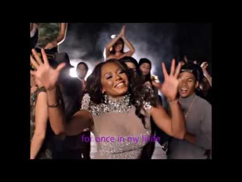 Mel B For Once In My Life live (lyrics video)
