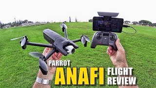 Parrot ANAFI Review - [Flight Test In-Depth / Pros & Cons]
