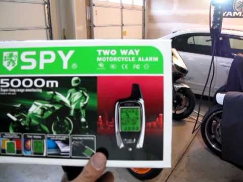 Spy 5000M two way alarm with remote start  YouTube