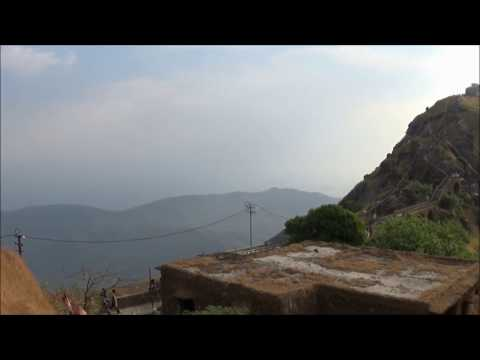 Junagadh Girnar mountain View 1080p HD Video