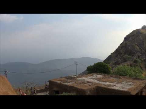 Junagadh Girnar mountain View 1080p HD Video