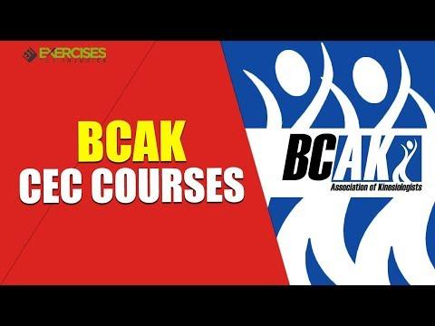 BCAK CEC Courses With Rick Kaselj