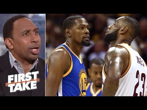 Kevin Durant vs. LeBron in NBA Finals changed Stephen A.'s mind about KD | First Take
