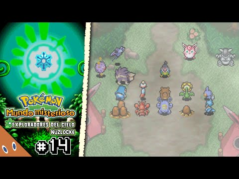 Pokémon Mundo Misterioso Exp. del Cielo Nuzlocke #14   Rumbo al campamento base