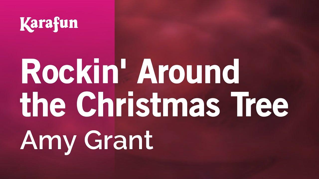 Karaoke Rockin' Around the Christmas Tree - Amy Grant * - YouTube
