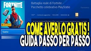 COMMENT GET THE SKIN PRODIGIO CELEBRANT PLAYSTATION FORTNITE GRATUIT