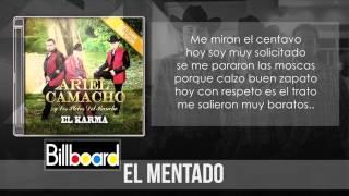 Ariel Camacho - El Mentado (Letra) (ESTRENO 2015) HD