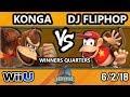 DHATX18 Smash 4 - Konga (Donkey Kong) Vs. DJ Fliphop (Diddy Kong) - Wii U Winners Quarters