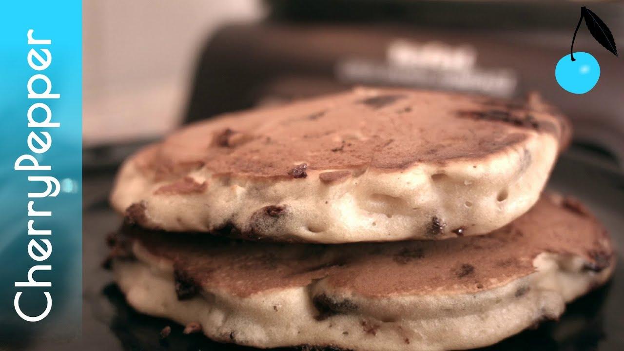 trio de pancakes sans lait sans oeufs recette vegan cherrypepper youtube. Black Bedroom Furniture Sets. Home Design Ideas