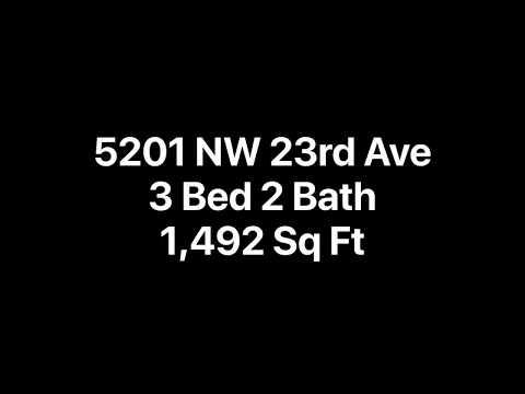 *3/2 - Video Tour: 5201 NW 23rd Avenue (Gainesville, FL)