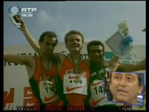 Atletismo :: Sporting Campeão Nacional de corta mato em 1997