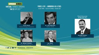 2021 GREEN4SEA Virtual Forum Panel 10: Ammonia as a fuel