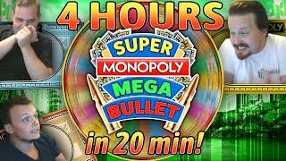 Super Monopoly Mega Bullet: BIGGEST Wheel Ever on Stream!