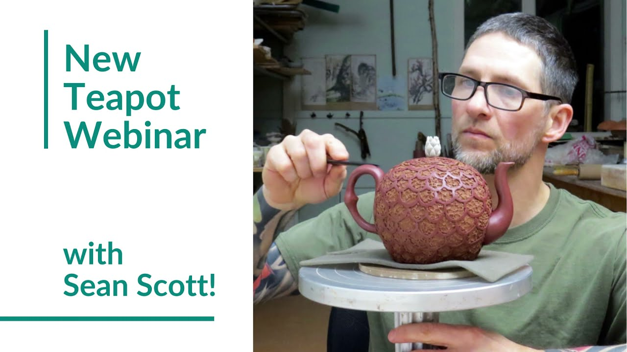 New Webinar: Learn How to Build a Teapot with Sean Scott!