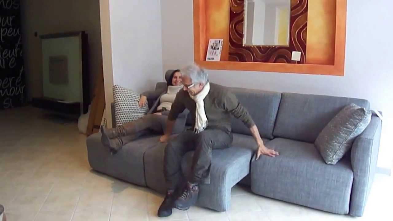 DIVANO MOVIDA 3 SEDUTE ESTRAIBILI - YouTube