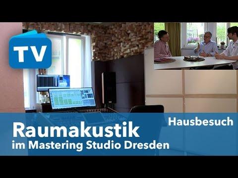 Die Raumakustik-Maßnahmen im Mastering Studio Dresden Teil 1