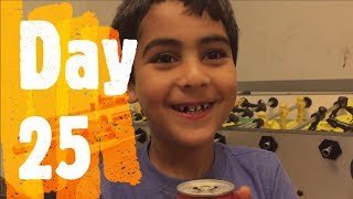 He Stayed Up Until 1 AM Watching My Videos!!!   Ramadan Vlog Day 25