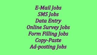 DATA ENTRY JOBS,EARN MONEY SITTING AT HOME
