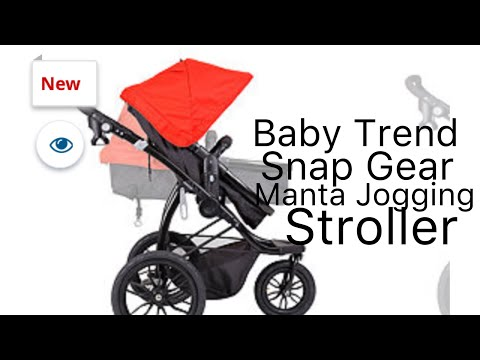Baby Trend Snap Gear Manta Lava Jogger Stroller Review Assembly