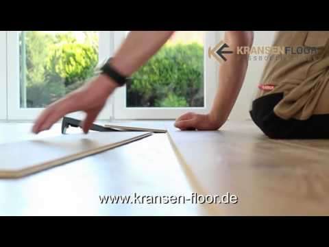 kransen floor parador laminat verlegen youtube. Black Bedroom Furniture Sets. Home Design Ideas