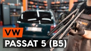 Jak vyměnit Hlavni brzdovy valec на VW PASSAT Variant (3B6) - online zdarma video