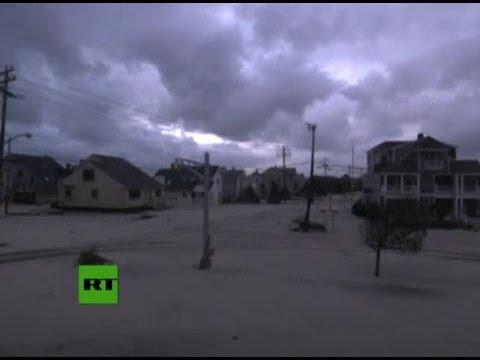 """Ураган """"Сэнди"""" в США (ТРАНСЛЯЦИЯ) / Superstorm Sandy LIVE"""
