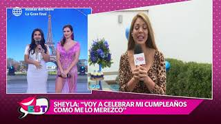 ¿Sheyla Rojas celebrará su cumpleaños con Fidelio Cavalli en Francia?
