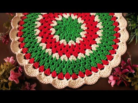 SOUSPLAT CROCHE NATAL #ElizabethAtelierCroche #Croche