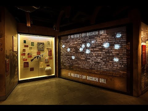 Exploring The Mob Museum Haunted St Valentine S Day Massacre Wall